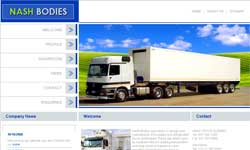 Truck Body Manufacturer Website